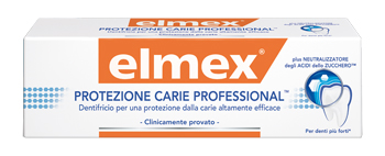 elmex Linea Igiene Dentale Quotididiana dentifricio Protezione Carie Profess