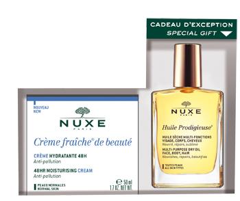 Laboratoire Nuxe Italia Nuxe Coffret Creme Fraiche De Beaute Pelli Normali