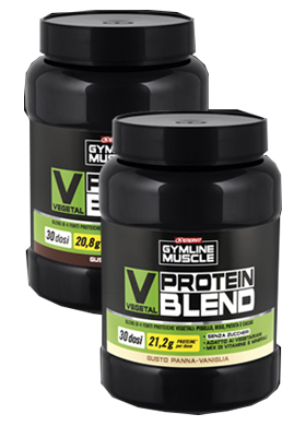 Enervit Gymline Muscle Veg Prot Blend Cacao 900 G