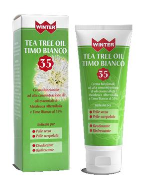 Winter Crema Tea Tree Oil e Timo Bianco 35 100 Ml