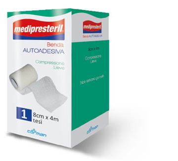 Corman Benda Adesiva Medipresteril 8x400 Cm