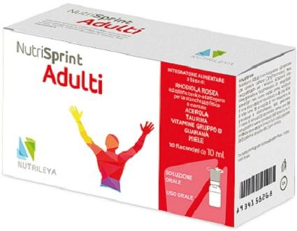 Nutrileya Nutrisprint 10 Flaconcini 10 Ml
