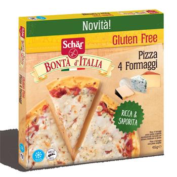 Dr.schar Schar Surg Pizza 4 Formaggi 415 G 1 Pezzo