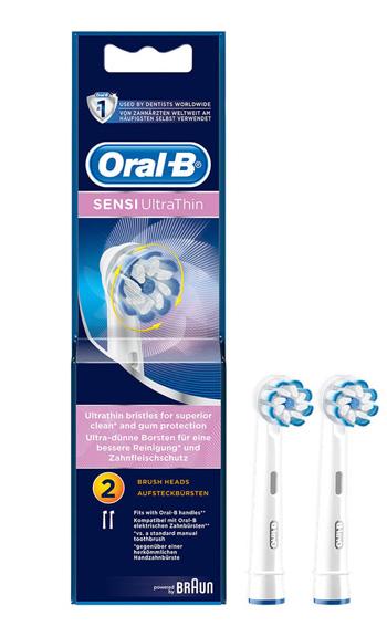Procter & Gamble Refill Spazzolino Elettrico Oral B 60-3 Ultra Thin