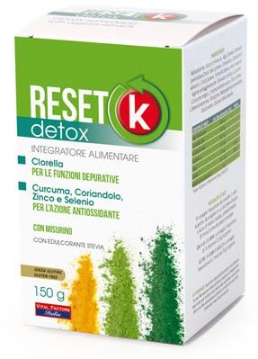 Vital Factors Italia Reset K Detox 150 G