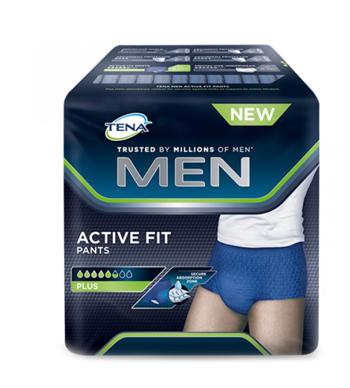 Tena Men Pull Up Uomo Pants Active Fit L 8 Pezzi
