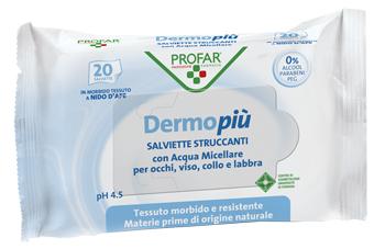 Federfarma.co Dermo Piu Salviette Detergenti Struccanti