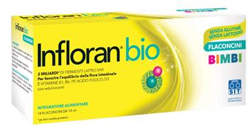 Infloran Bio Bimbi 14 Flaconcini