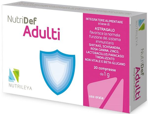 Nutrileya Nutridef Adulti 20 Compresse