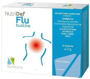 Nutrileya Nutridef Flu 14 Bustine