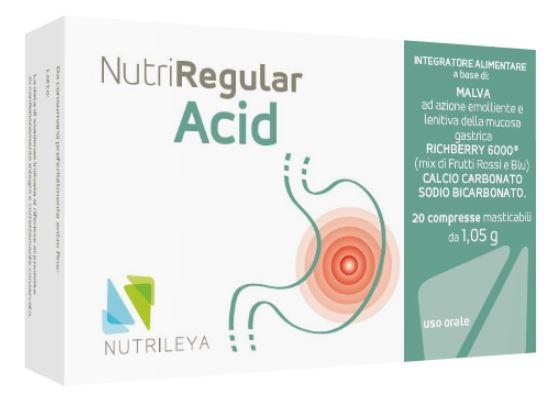 Nutrileya Nutriregular Acid 20 Compresse Masticabili