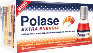 Glaxosmithkline C.health. Polase Extra Energia 8 Flaconcini SC 09 21