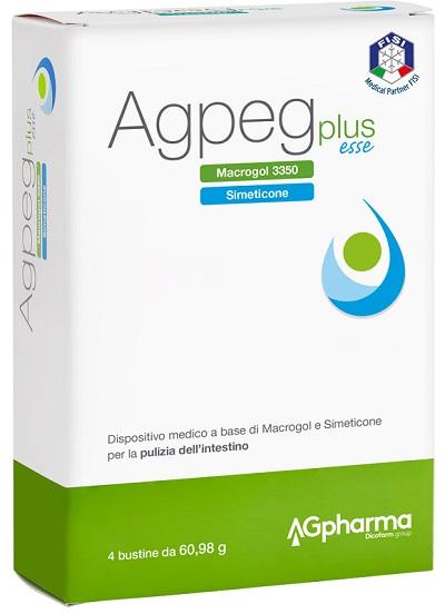 Ag Pharma Agpeg Plus Esse 4 Buste Orosolubili Da 60 98 G