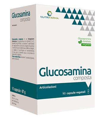 Aqua Viva Glucosamina Composta Vegetale 90 Capsule