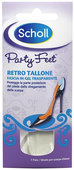 Scholl Plantare Ortopedico Per Retro Tallone Party Feet Scholl Gel Activ 1 Paio