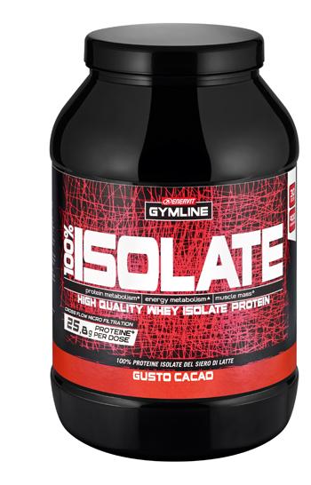 Enervit Gymline 100% Whey Isolate Cacao 900 G