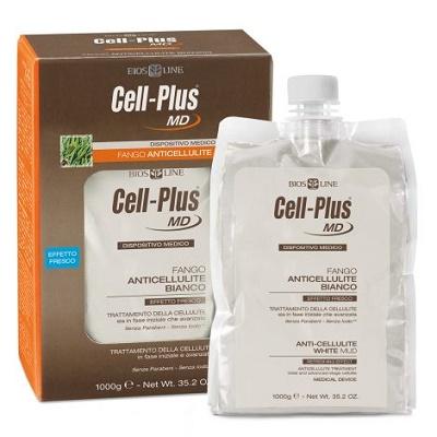 Bios Line Cellplus Md Fango Bianco Anticellulite Effetto Fresco 1 Kg