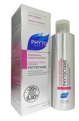 Phytocyane Shampoo Ridensificante Capelli Donna 200 Ml