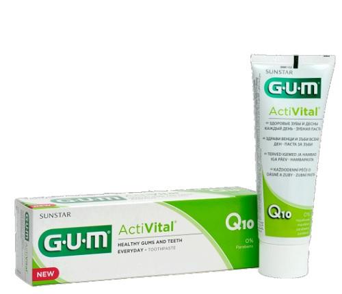 Sunstar Italiana Gum Activital Dentifricio Gel 75 Ml