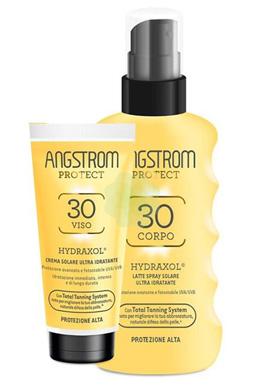 Angstrom Hydraxol Bipacco Latte Spray 30+ Crema Viso