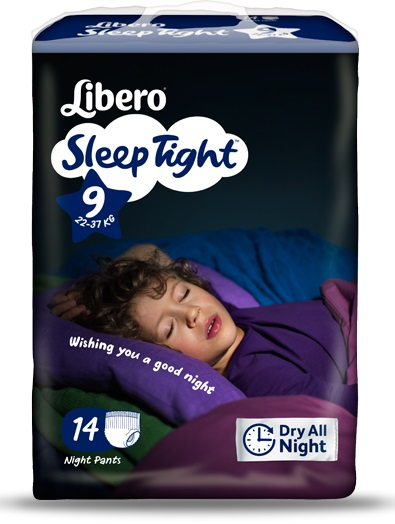 Essity Italy Libero Sleeptight Taglia 9 14 Pezzi