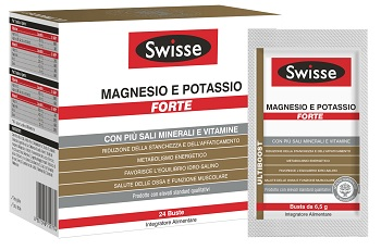 Procter & Gamble Swisse Magnesio Potassio Forte 24 Buste