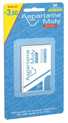 Esi Aspartame Midy Pocket 80 Compresse