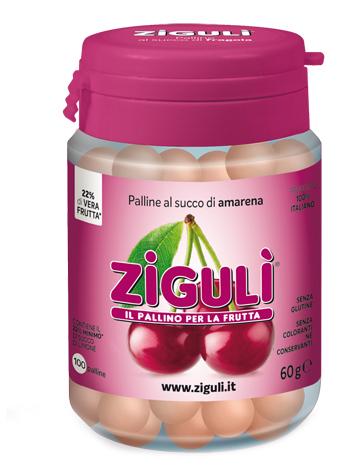 Falqui Prodotti Farmac. Ziguli Amarena 100 Palline 60 G
