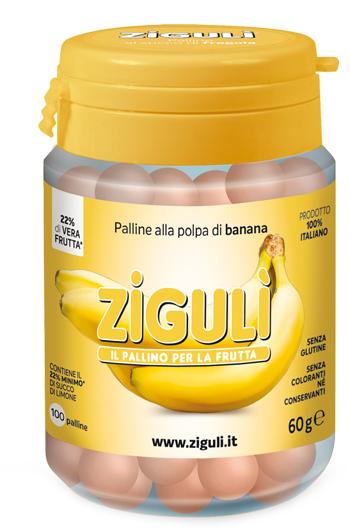 Falqui Prodotti Farmac. Ziguli Banana 100 Palline 60 G
