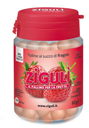Falqui Prodotti Farmac. Ziguli Fragola 100 Palline 60 G