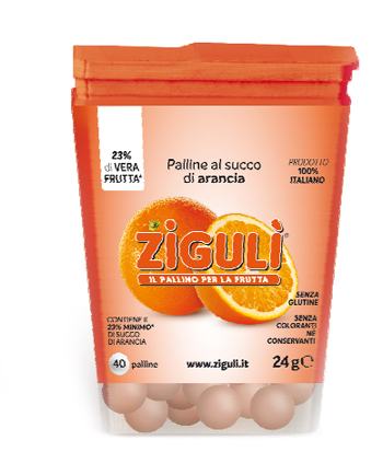 Falqui Prodotti Farmac. Ziguli Arancia 40 Palline 24 G