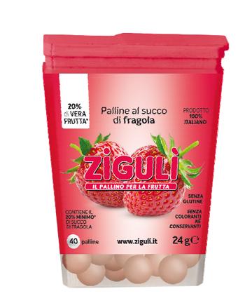 Falqui Prodotti Farmac. Ziguli Fragola 40 Palline 24 G