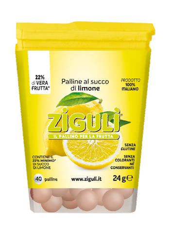 Falqui Prodotti Farmac. Ziguli Limone 40 Palline 24 G