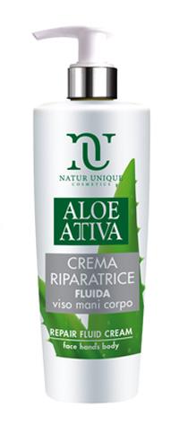 Aloe Attiva Crema Fluida Riparatrice 190 Ml Natur Unique