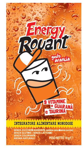 Rouant Energy Arancia 1 Bustina Da 19 G
