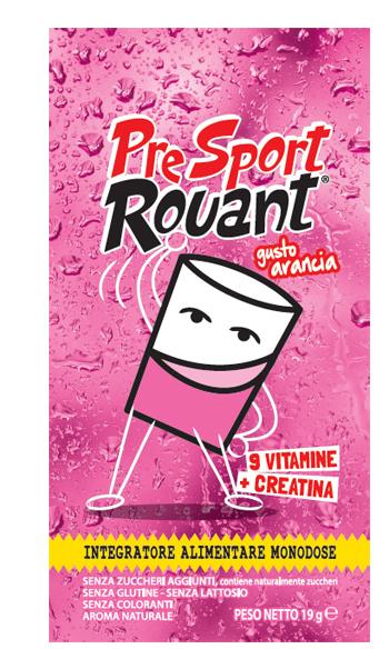Rouant Pre Sport Arancia 1 Bustina 19 G
