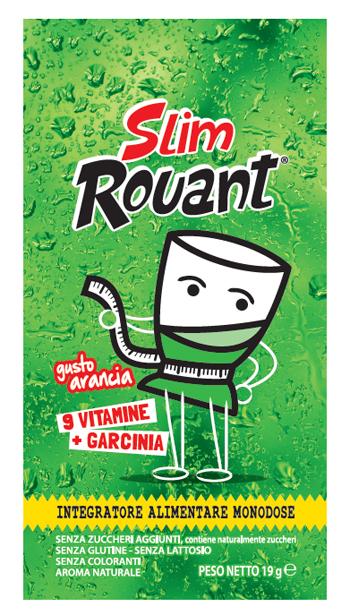Rouant Slim Arancia 1 Bustina Da 19 G