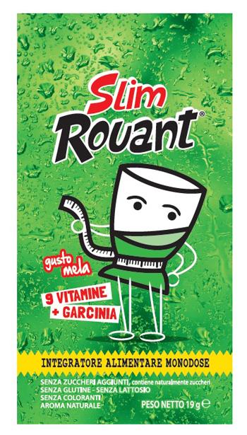Rouant Slim Mela 1 Bustina Da 19 G