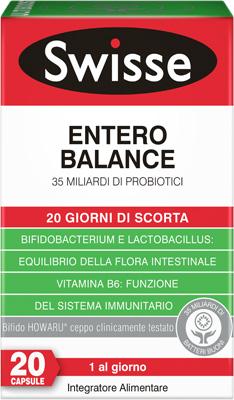 Swisse UltiboostFermenti Lattici  Entero Balance 20 Capsule