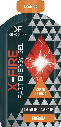 Aqua Viva KEFORMA GEL X Fire Arancia 30 Ml Fast Energy Carnosina Carnitina