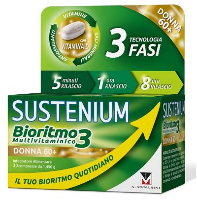 A.menarini Ind.farm.riun. Sustenium Bioritmo3 Donna 60  30 Compresse