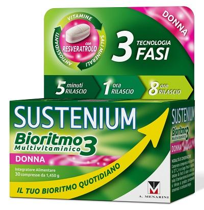 A.menarini Ind.farm.riun. Sustenium Bioritmo3 Donna Adulta 30 Compresse