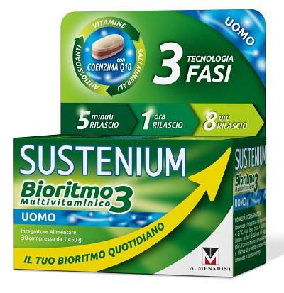 A.menarini Ind.farm.riun. Sustenium Bioritmo3 Uomo Adulto 30 Compresse