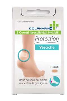 Colpharma Cerotti Idrocolloidali Protection Vesciche Grandi 6 Pezzi