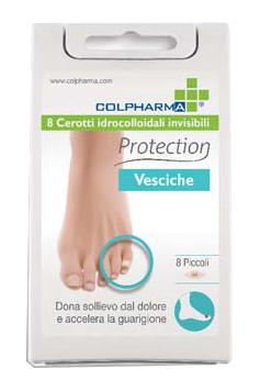 Colpharma Cerotti Idrocolloidali Protection Vesciche Piccoli 8 Pezzi