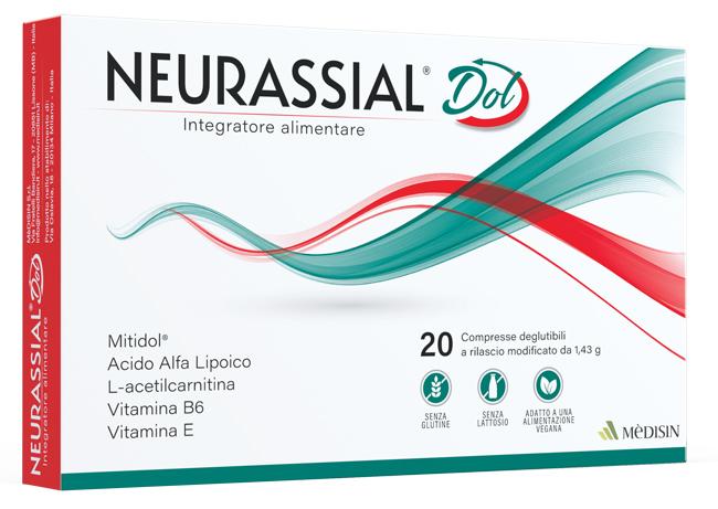 Medisin Neurassial Dol 20 Compresse Deglutibili A Rilascio Modificato