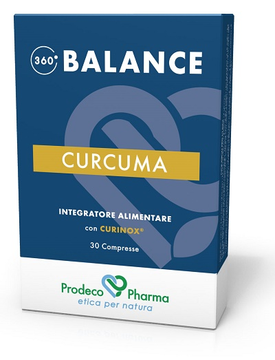 Prodeco Pharma 360 Balance Curcuma 30 Compresse