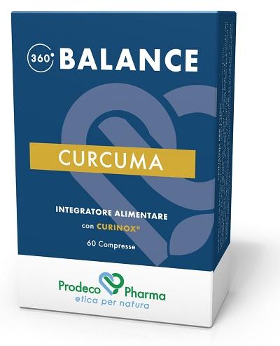 Prodeco Pharma 360 Balance Curcuma 60 Compresse