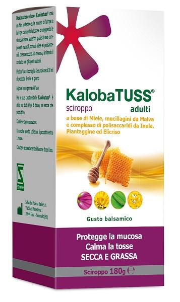Schwabe Pharma Italia Kalobatuss Adulti Sciroppo 180 G