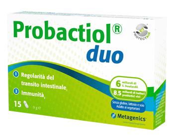 Metagenics Probactiol Duo New 15 Capsule Fermenti Lattici